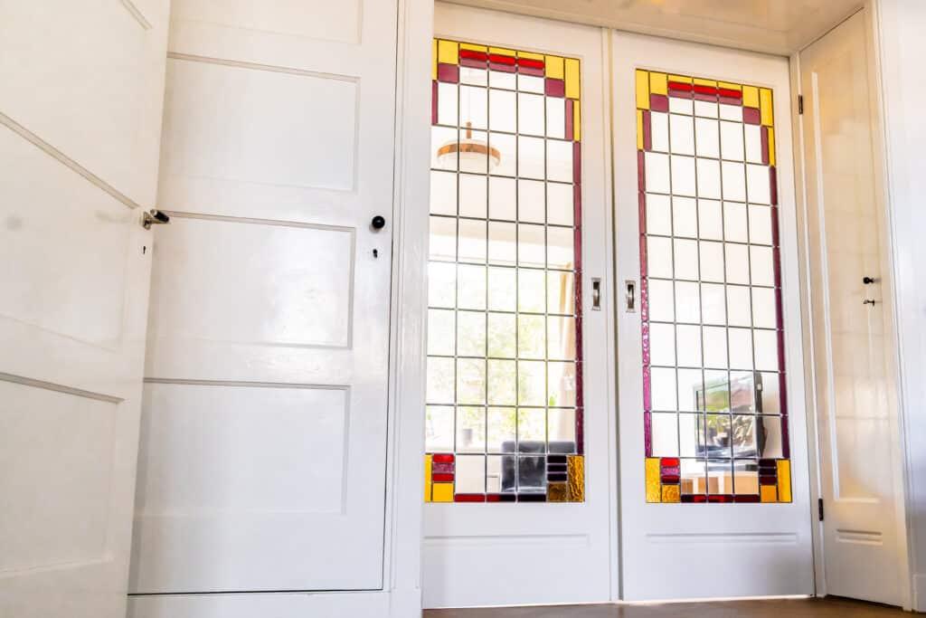 Wildschut glas in lood interieur 3